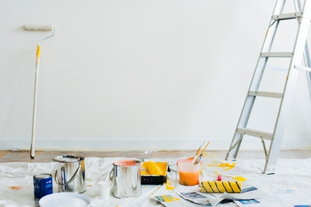 Боядисване с латекс 1
