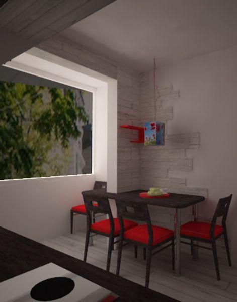 Кухня с червените нюанси, кв. Изток, 2
