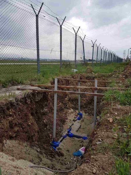 Изграждане  на  магистрален водопровод на