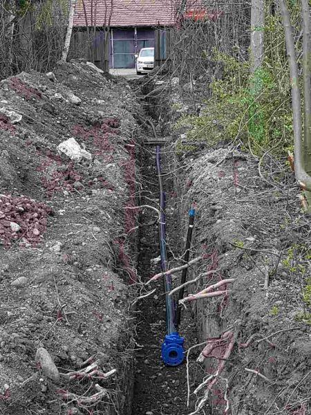 Изграждане на магистрален водопровод  4