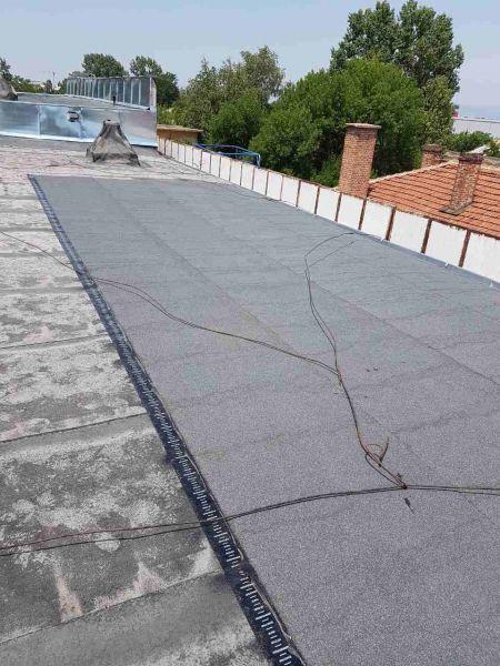 Ремонт на покрив 500кв.м. на