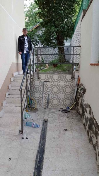 Направа на  вертикална планировка  по проект ул.
